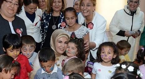 Emine Erdoğan, TOGEM Ali Ağaoğlu ile Sabahat Mevlüt Akbunar okullarının açılışını yaptı!