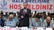 Lokman Çağırıcı: Kentsel dönüşümde vatandaşın hakkını biz koruyacağız!