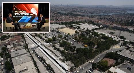 Tayyip Erdoğan açıkladı; Rami Kışlası, milli kütüphane olacak!