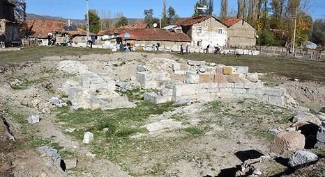 Tokat'taki Sebastapolis Antik Kenti'nde kazılar yeniden başladı!