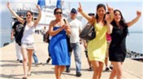 Antalya'ya gelen turist sayısında İsrailliler yüzde 133 artış gösterdi!