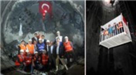 Çekmeköy-Ümraniye-Sancaktepe Metrosu'nda iki tünel birleşti!
