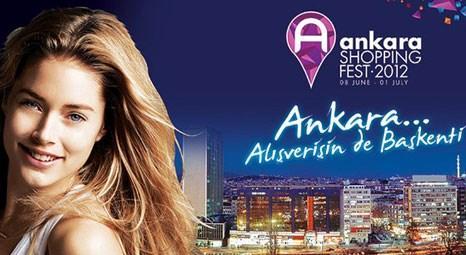 Ankara Shopping Fest Emily Didonato'nun çalacağı gong ile başlıyor!