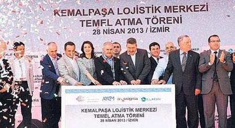 Kemalpaşa'da temeli atılan lojistik köy 2015 yılına kadar faaliyete geçecek!