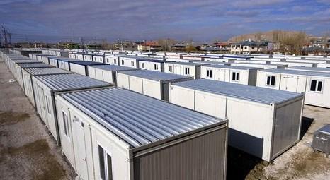 Malatya'daki 10 bin kişilik konteyner kentte çalışmalar tamamlandı!