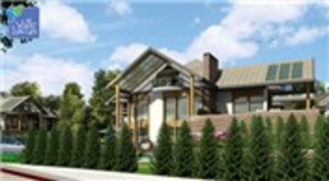 Büyükçekmece Valle Lacus KLK İnşaat'ta sıfır faizle villa!