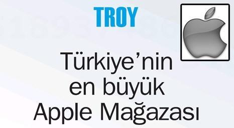 Türkiye'nin en büyük Apple mağazası Troy, Marmara Park AVM'de bugün açılıyor!