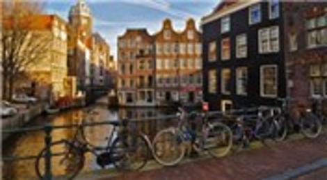 Amsterdam dünyanın en iyi bisiklet şehri!