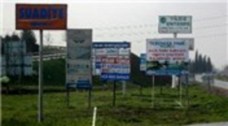 Karayolları Genel Müdürlüğü 38 reklam tabelasını kiraya verecek!