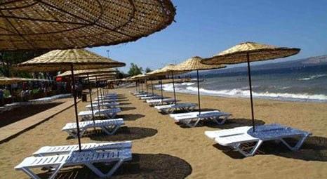 Kocaeli Kandıra Cebeci Halk Plajı'na mavi bayrak verildi!