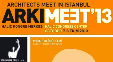 Arkitera Genç Mimar Ödülü bu sene ARKIMEET 2013'te sahiplerini bulacak!