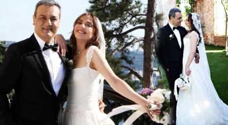 Melike Güner ile Ali Haydar Bozkurt, Adile Sultan Sarayı'nda evlendi!