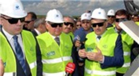 Bakü- Tiflis- Kars Demiryolu projesinde ilk ray kaynağı yapıldı!