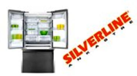 Silverline Ankastre'den pratik kullanımlı üç kapılı gardrop tipi buzdolabı!