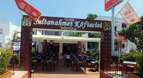 Sultanahmet Köftecisi Bodrum Gümbet'te yeni restoran açtı!