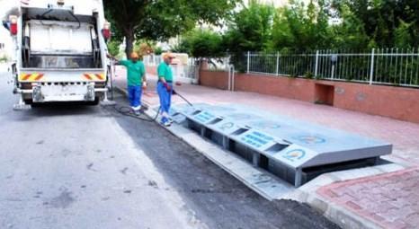 Çevre ve Şehircilik Bakanlığı çöp konteynerlerini yeraltına indirmek için start verdi!