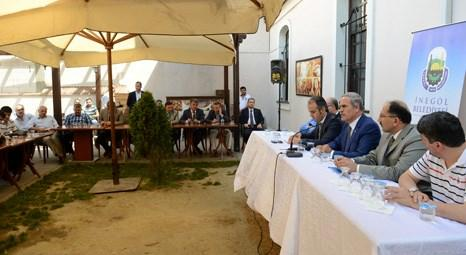 Bursa Büyükşehir Belediyesi İnegöl'de yatırım tespit çalışmalarına başladı!