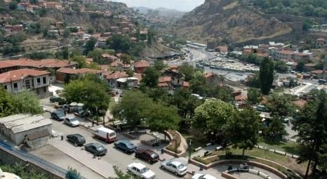 Ankara Ulus'ta Roma döneminden kalma antik tiyatro yenileniyor!