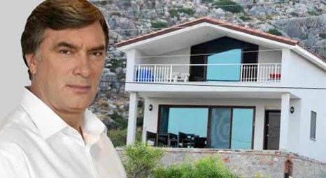 Tarık Tarcan'ın Marmaris'teki evine 70 bin lira imar cezası kesildi!