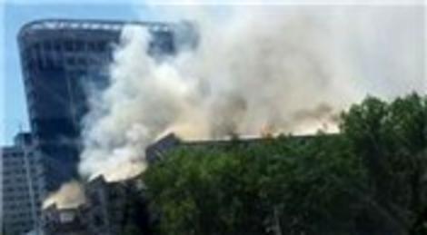 DHMİ Ankara binasında yangın çıktı!