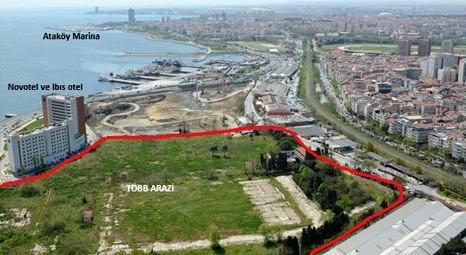 TOBB'un Zeytinburnu arazisine 1.14 milyar liralık proje geliyor!