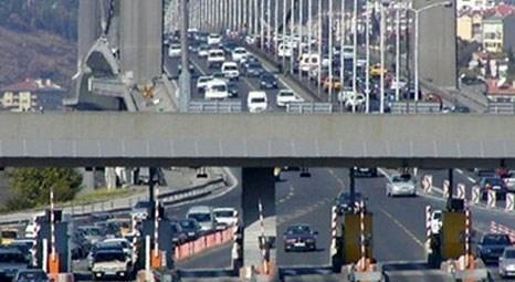 Köprü ve otoyollardan Haziran ayında 390 milyon lira gelir elde edildi!