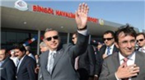 Bingöl Havalimanı'nın açılışını Başbakan Recep Tayyip Erdoğan yaptı!
