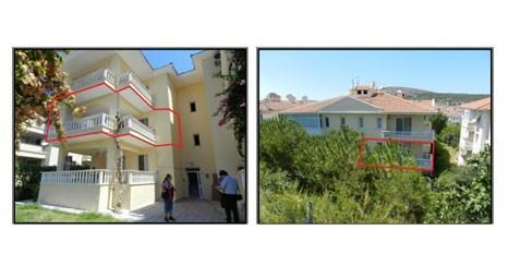 Darüşşafaka Cemiyeti'nden İzmir Çeşme'de satılık 3 daire!