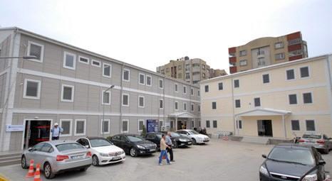 Emaar Square'in alt yüklenicisi Sera Yapı mobilizasyonda Prefabrik Yapı'yı tercih etti!