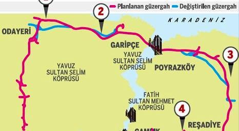Kuzey Marmara Otoyolu Projesi'nde hangi değişiklikler yapıldı?
