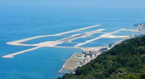 Ordu- Giresun Havalimanı'nda dolgu miktarı 13 milyon tona yaklaştı!