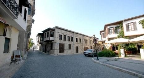 Mersin Tarsus'taki tarihi evler yatırımcı bekliyor!