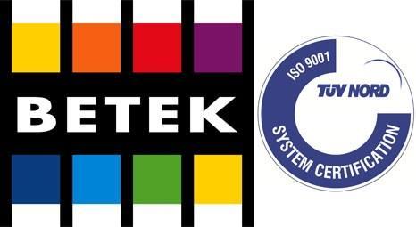 Betek Boya'nın Mısır'daki fabrikası, ISO 9001 belgesi aldı!