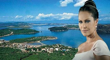 Hülya Avşar'ın Ayvalık'ta akrabaları için aldığı taş evin restorasyonu 3 milyon liraya mal oldu!