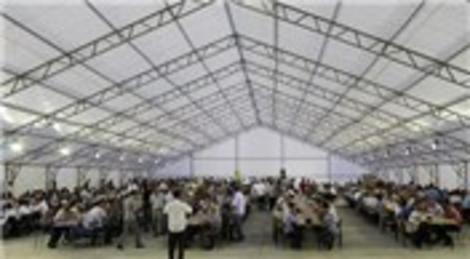 Emine Erdoğan Siirt'e 2 bin 500 kişilik iftar çadırı gönderdi!