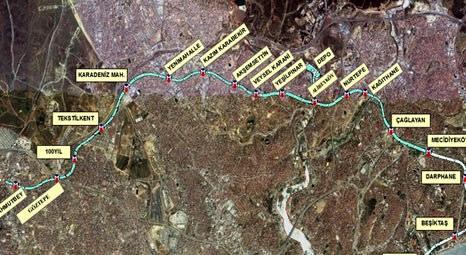 Mecidiyeköy-Mahmutbey arası metroyla 26 dakikaya kadar inecek!