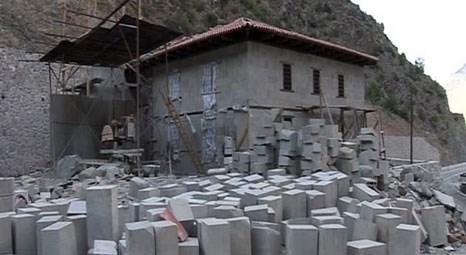 Zeytinlik Köyü Camisi Artvin Deriner Barajı'nın sularından son anda kurtarıldı!