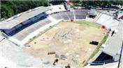 Beşiktaş İnönü Stadyumu'nda yıkım çalışmaları devam ediyor!