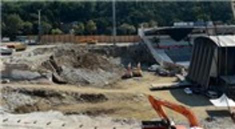Anıtlar Yüksek Kurulu Beşiktaş İnönü Stadyumu'nda inceleme yaptı!