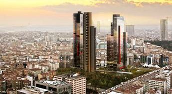 Torun Center Mecidiyeköy'de fiyatlar 620 bin dolardan başlıyor!