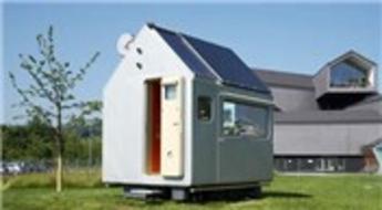 Küçük evlerde son nokta: 3 metrekarelik bu ev 45 bin dolar!