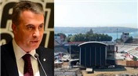 Fikret Orman İnönü Stadı inşaatını kontrol edecek şekilde ofisini değiştiriyor!
