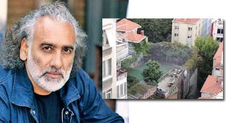 Sinan Çetin, Cihargir'de apartmanların arasına mini futbol sahası yaptırdı!