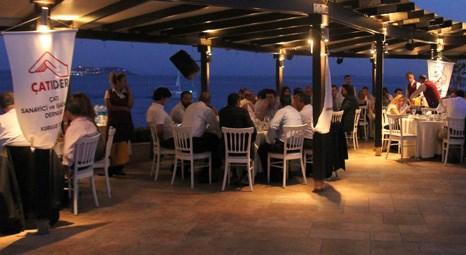 ÇATIDER Moda Deniz Kulübü'nde iftar yemeği düzenledi!