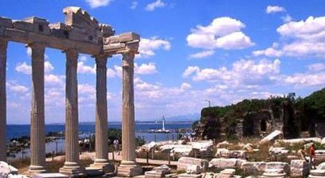Aydın Didim'de Apollon Tapınağı ve çevresinde kazı çalışmaları başladı!