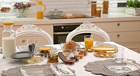 Paşabahçe Breakfast Club ile kahvaltı sofralarında farklı bir tarz!