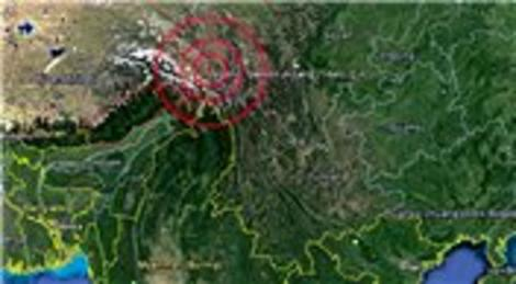 Çin Tibet Özerk Bölgesi'nde 6.1 büyüklüğünde deprem yaşandı!