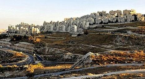 İsrail İmar Bakanlığı, Batı Şeria ve Doğu Kudüs'te 1.200 yeni konut inşasına onay verdi!
