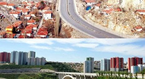 TOKİ, Ankara'yı imajına zarar veren çarpık yapılardan temizliyor!