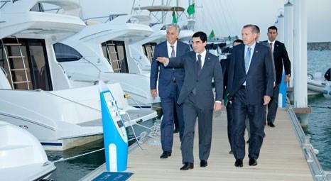 Polimeks, Türkmenistan'ın ilk marinasını hayata geçirdi!